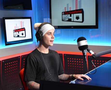 Justin Bieber Big Top 40 Studio