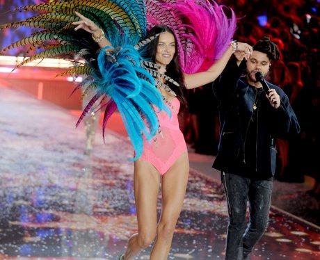 The Weeknd Victoria's Secret Fashion Show 2015