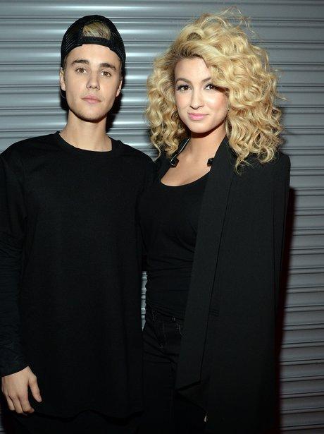 Justin Bieber and Tori Kelly HALO Awards