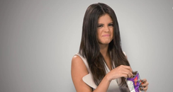 Selena Gomez Eats Monster Munch