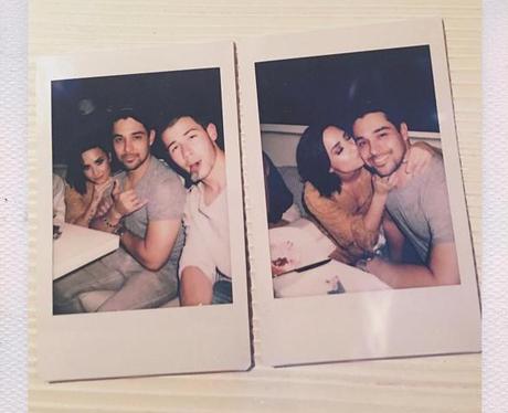 Demi Lovato Nick Jonas Instagram