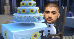 Zayn Malik as Olaf Frozen
