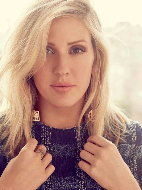 Ellie Goulding Dougie Poynter Glamour US Magazine