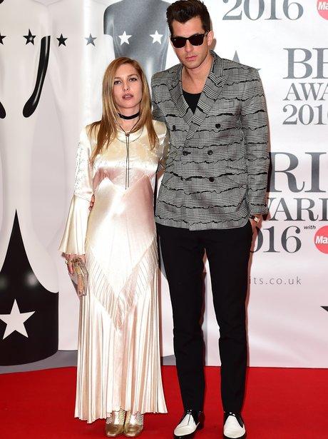 Mark Ronson Red Carpet Arrival Brit Awards 2016