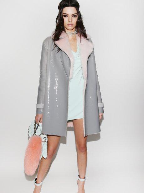 Versace Kendall Jenner Milan Fashion Week FW16