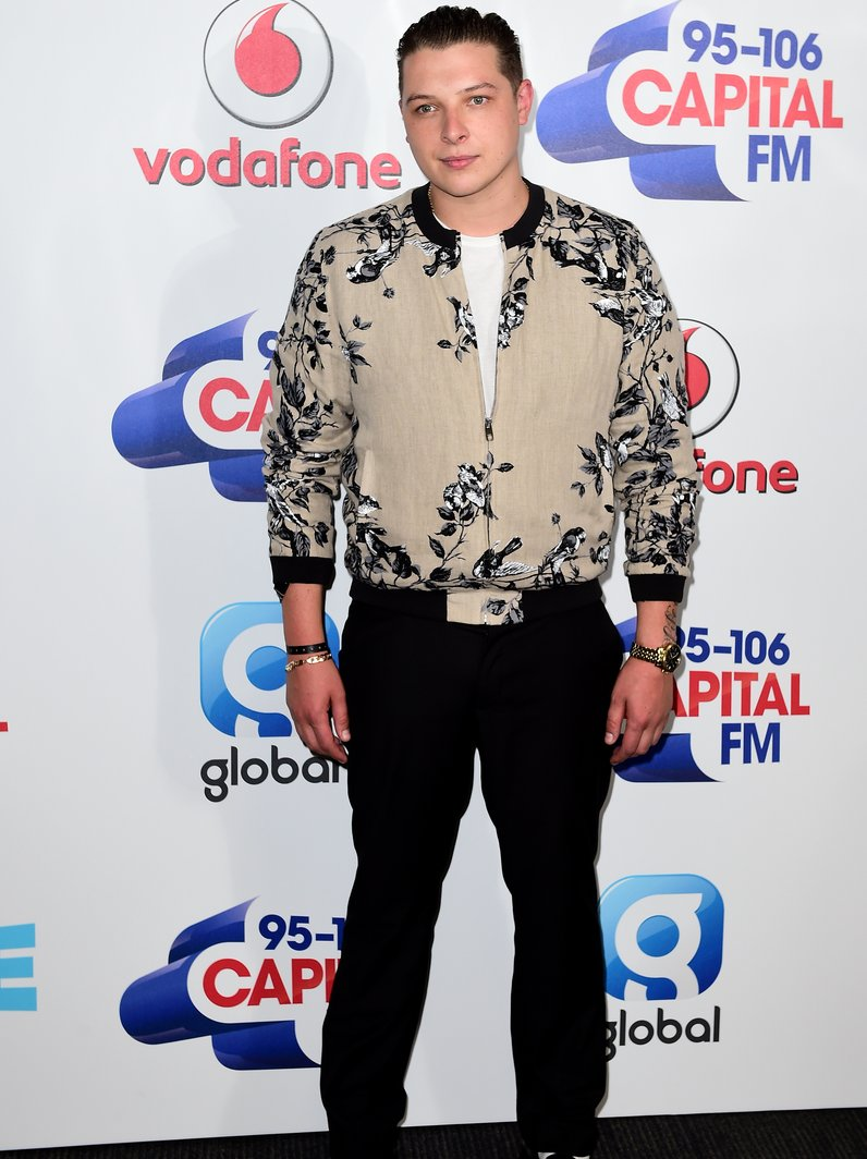 John Newman Summertime Ball 2016 Red Carpet