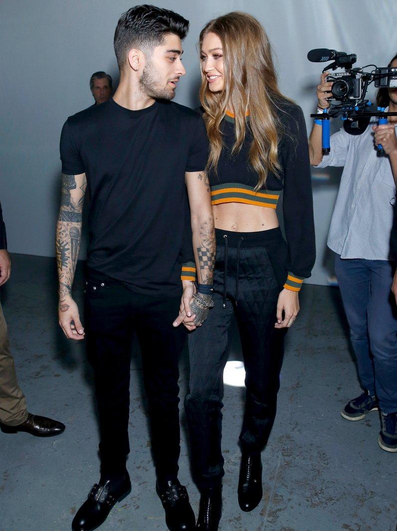 Zayn Malik and Gigi Hadid only have eyes for each