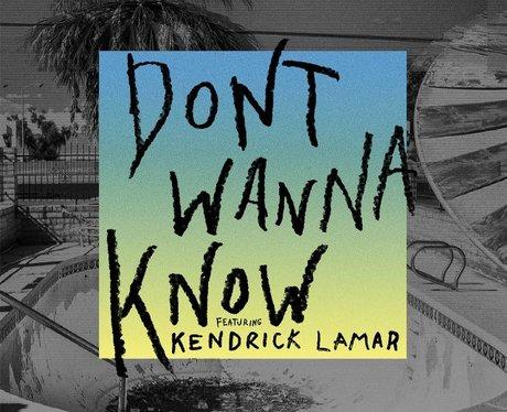 Maroon 5 Kendrick Lamar Don'y Wanna Know