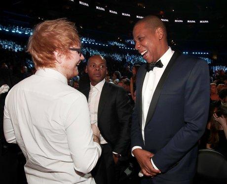 Ed Sheeran and Jay-Z Grammy Awards