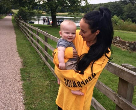 Stephanie Davis is 'so lucky' to have son Caben